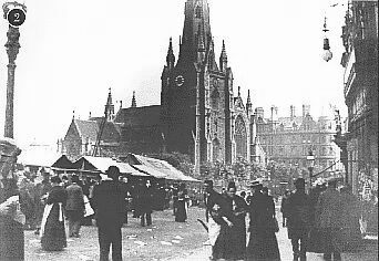 St Martins in the Bull Ring (c.1895)